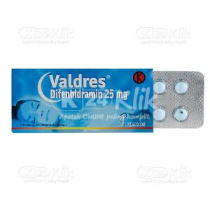 VALDRES 25MG TAB 30S