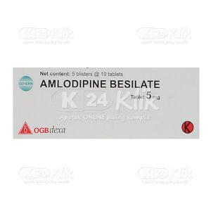 AMLODIPINE DEXA 5MG TAB 50S