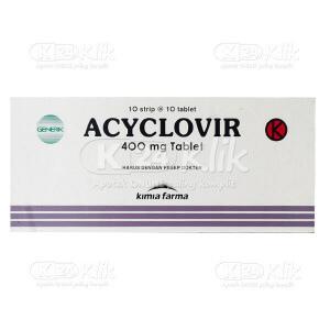 ACYCLOVIR KF 400MG TAB 100S