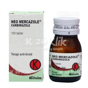 NEO MERCAZOLE 5MG TAB