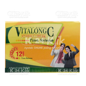 VITALONG C CAP 4S STRIP 25S