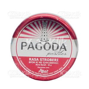 PAGODA PERMEN STRAWBERI 20 G