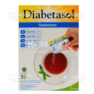 DIABETASOL NO CALORIE SWETENER 50GR