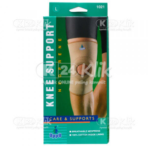 OPPO KNEE SUPPORT W/HOLE 1021 L