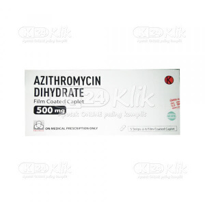 AZITHROMYCIN PROMED 500MG FC CAPL 30S