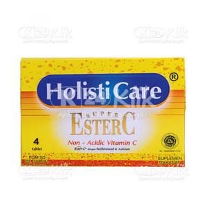 HOLISTICARE SUPER ESTER C STR 4'S