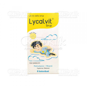 LYCALVIT SYR 60 ML
