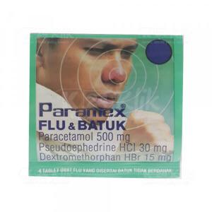 PARAMEX FLU BATUK 4S