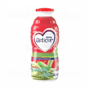 ACTICOR GREEN TEA LATTE 85ML