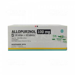 ALLOPURINOL HEXPHARM 100MG TAB 100S