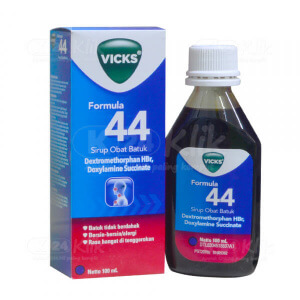 VICKS F44 DWS SYR 100ML