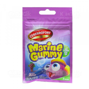 CEREBROFORT MARINE GUMMY GRAPE SACH 5S