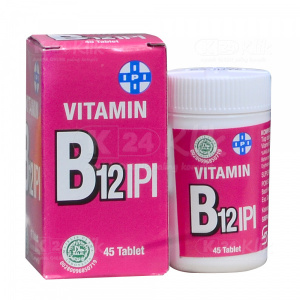 VITAMIN B12 IPI TAB 45S TUBE