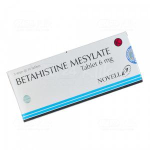 BETAHISTINE NOVELL 6MG TAB 30S