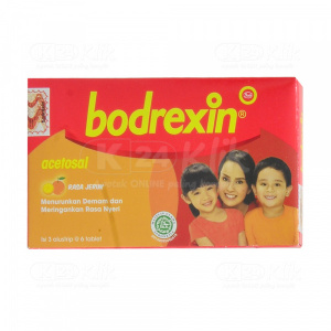 BODREXIN 80MG TAB 18S