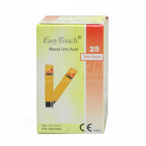 EASY TOUCH URIC ACID STRIP 25S (PACK)