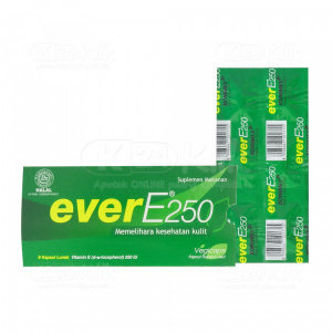 EVER E 250IU SOFTCAP 6S STRIP 25S