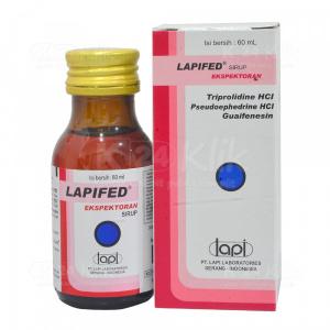 LAPIFED EXP SYR 60ML