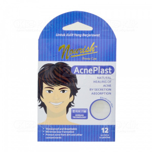 NOURISH BEAUTY CARE ACNEPLAST BOY 12S