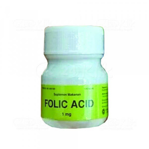 FOLIC ACID FM 1MG TAB 100S