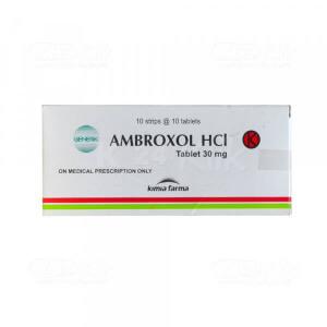 AMBROXOL KF 30MG TAB 100S