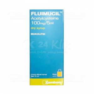 FLUIMUCIL DRY SYRUP 75ML 100MG/5ML