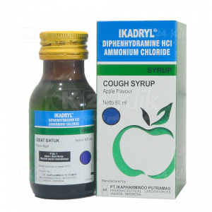 IKADRYL SYR 60ML