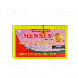 MENSES PLUS CAIR 15ML SACH 5S