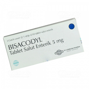 BISACODYL ETERCON 5MG TAB 30S