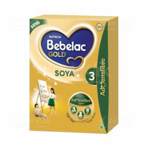 BEBELAC GOLD SOYA 3 VANILA 360G BOX