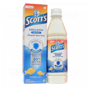 SCOTTS EMULS ORIG 400ML