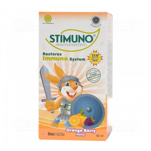 STIMUNO ORANGE BERRY SYR 60ML