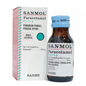 SANMOL SYR 60ML 120MG/5ML
