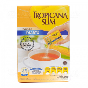 TROPICANA SLIM DIABETICS 25 SACH