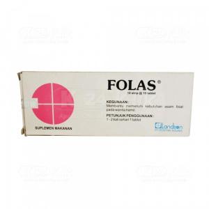 FOLAS 400MCG TAB 100S