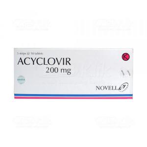 ACYCLOVIR NOVELL 200MG TAB