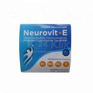 NEUROVIT E 4S STRIP 25S