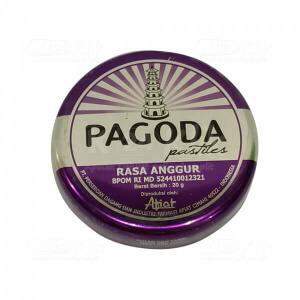 PAGODA PERMEN GRAPE 20 G