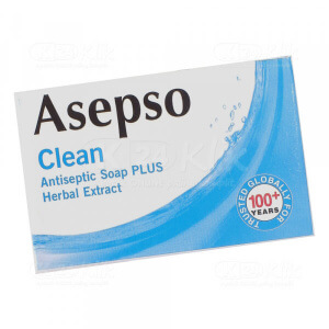 ASEPSO CLEAN SOAP 80G