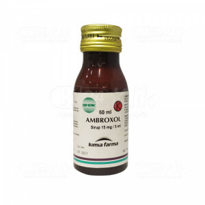 AMBROXOL KF 15MG/5ML SYR 60ML