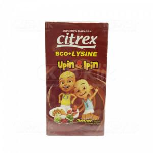 CITREX VIT BCO+LYSINE CHOCO TAB 30S BTL