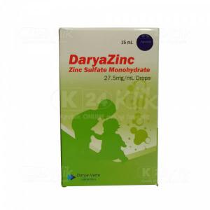 DARYAZINC 27.5MG/ML DROPS 15ML