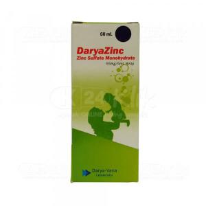 DARYAZINC 55MG/5ML SYR 60ML