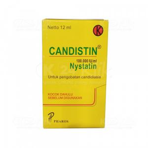 CANDISTIN SUSP DROP 12ML