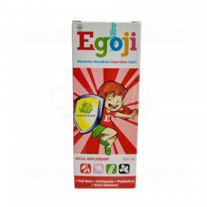 EGOJI SYR APELBERRY 100ML