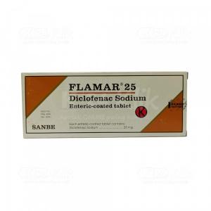 FLAMAR 25MG TAB