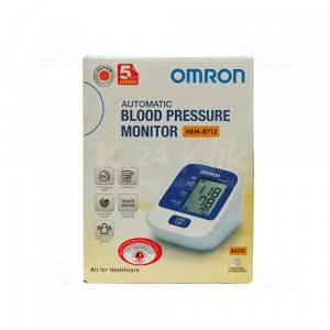 OMRON AUTOMATIC BLOOD PRESSURE MONITOR HEM-8712