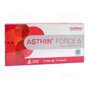 ASTHIN FORCE 6MG CAP 20S
