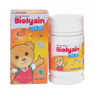 BIOLYSIN KIDS TAB JERUK 30'S