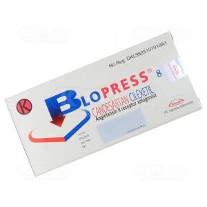 BLOPRESS 8MG TAB